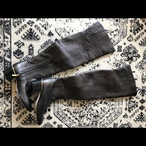 Jimmy Choo- Mitty Flat over the knee boots- NWT